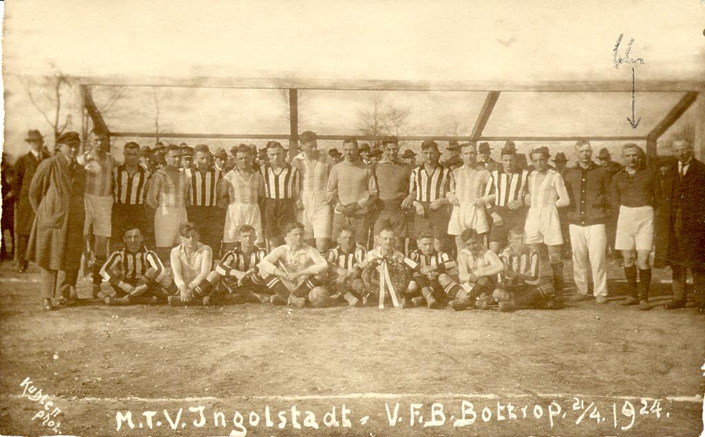 1924, MTV - VfB Bottrop 21 zu 4-2-