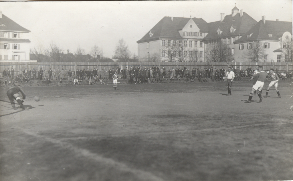 1928, MTV - Jahn Regensburg 1 zu 3