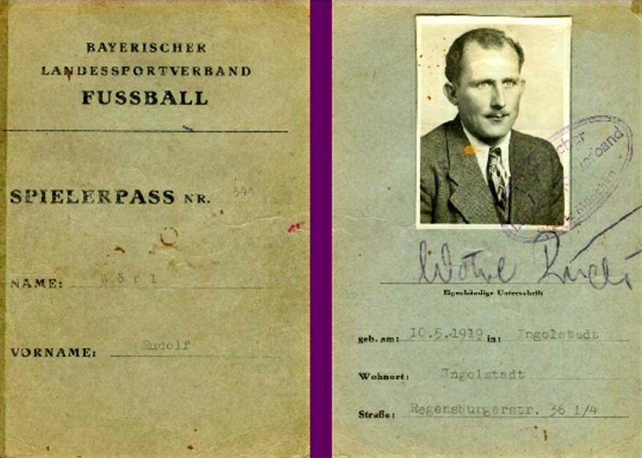 Spielerpass Rudolf Wöhrl