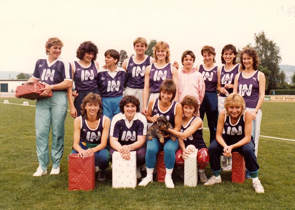 Bundesliga Damenmannschaft 1987