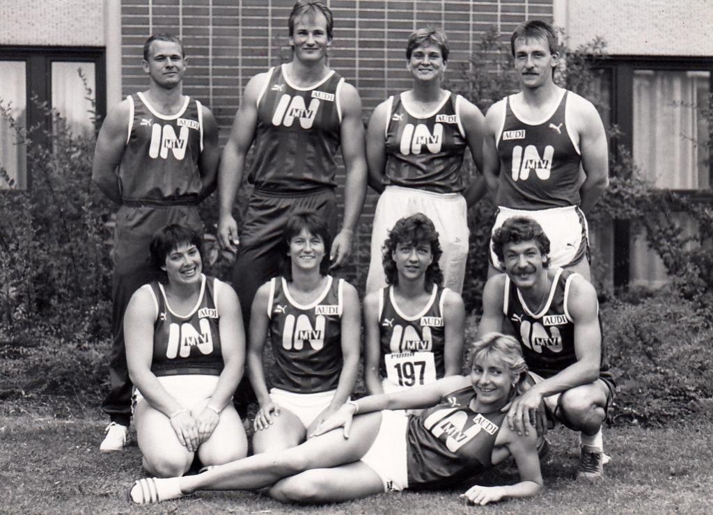 Erfolgreiche Leichtathleten 1987