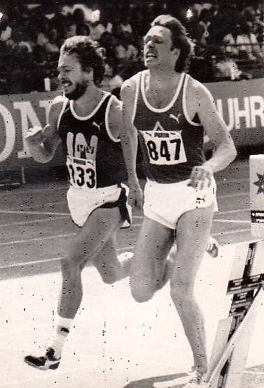H.P. Ferner mit Willi Wülbeck