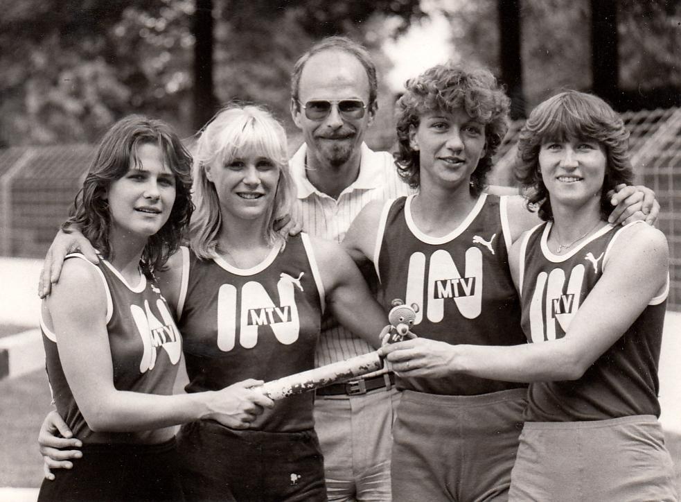 Sprinttrainer W.Schabinger 4x400m Staffel
